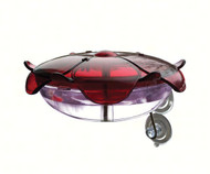 Droll Yankees Ruby Sipper Window Hummingbird Feeder Lavender DYRS3WL