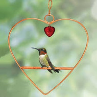 Songbird Essentials Tweet Heart Birdie Swing Copper Color E802