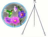 Songbird Essentials Hummingbird Hanging Birdbath SE5003