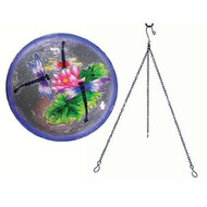 Songbird Essentials Dragonfly Trio Hanging Birdbath SE5016