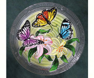 Songbird Essentials Butterfly Trio Birdbath SE5017