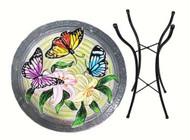 Songbird Essential Butterfly Trio Birdbath w/Stand SE5018