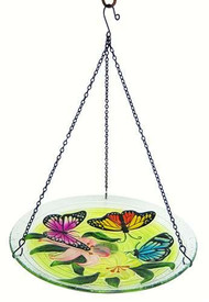 Songbird Essentials Butterfly Trio Hanging Birdbath SE5020