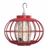 The Nuttery Lantern Seed Bird Feeder RED LAND03