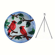 Songbird Essentials Perching Cardinals Hanging Birdbath SE5041