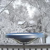 Birds Choice Black Heated Deck Mounted Bird Bath Ice Free To -25 Degrees Fahrenheit 125 Watt  BNHDECKBK