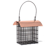 Songbird Essentials Deluxe Double Suet Cage w/Copper Roof 105