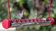 """Perky Pet HUMMERBAR Hummingbird Feeder 24"""" With 22 PORTS HUMBAR200DTC"""
