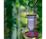 Perky Pet Lavender Field Top-Fill Glass Hummingbird Feeder 9101-2