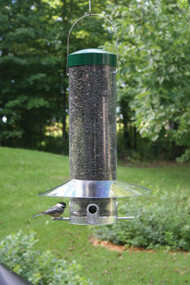 "Birds Choice 20"" Classic Hanging Bird Feeder With Squirrel Baffle / Weather Guard NP436"