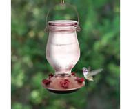 Perky Pet Rose Gold Top-Fill Glass Hummingbird Feeder 9104-2