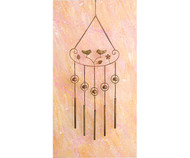 Ancient Graffiti Sitting Birds Windchime AG1432