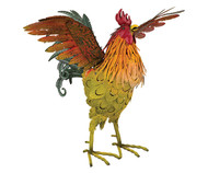 Regal Art and Gift 21 inch Home and Garden Napa Rooster Wing Up Decor Statuary 12380