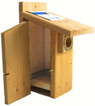 Songbird Essentials Western Bluebird Ultimate Birdhouse SEWBBSCS3004RW