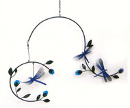 Gift Essentials Dragonflies & Blossoms Mobile GEBLUEG474