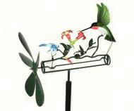 Gift Essentials Hummingbird & Dragonfly Whirligig GEBLUEG148
