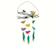 Gift Essentials Bird on Branch Wind Chime GEBLUEG494