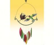 Gift Essentials HBird & Flower Wind Chime GEBLUEG354
