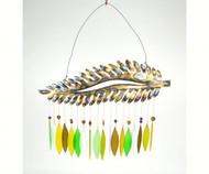Gift Essentials Fern Wind Chime GEBLUEG205