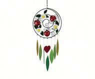 Gift Essentials Ladybug and Daisies Wind Chime GEBLUEG509