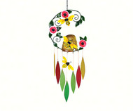 Gift Essentials Bee Skep Wind Chime GEBLUEG512