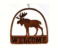 Gift Essentials Moose Round Welcome Sign GEBLUEG527