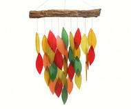 Gift Essentials Fall Colors Waterfall Wind Chime GEBLUEG521