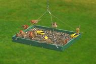 Songbird Essentials Large Hanging Platform Bird Feeder SERUBSPF400H
