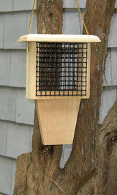 Coveside Conservation Woodpecker Suet Feeder with Tail Prop COV-22400