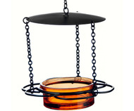 Couronne Co Orange Hanging Floral Bird Feeder COURM44620008