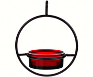 Couronne Co Red Sphere Hanging Bird Feeder COURM04520006