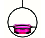 Couronne Co Fuchsia Sphere Hanging Bird Feeder COURM04520007
