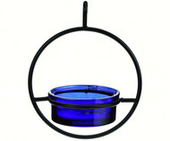 Couronne Co Cobalt Sphere Hanging Bird Feeder COURM04520015