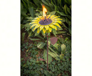 Desert Steel Sunflower Garden Torch DS409003