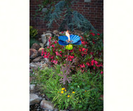 Desert Steel Himalayan Poppy Garden Torch DS409005