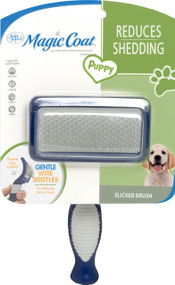 Four Paws Products Ltd-Magic Coat Gentle Slicker Wire Brush For Puppies