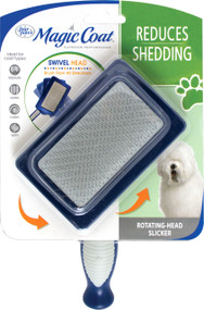 Four Paws Products Ltd-Magic Coat Rotating Head Slicker