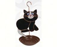 Gift Essentials Black Cat Bird Feeder GE196