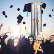 Woodstock Chimes Large Graduation Wind Chime PMCL