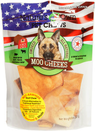 Best Buy Bones - Nature's Own Smoked Moo Cheeks Dog Chew