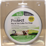 Tevra Brands Llc - Vetality Protect Flea & Tick Dog Collar