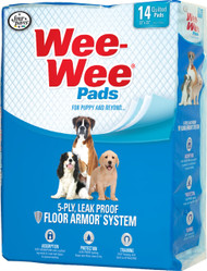 Four Paws - Container - Wee Wee Pads For Puppies