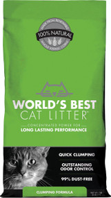 Worlds Best Cat Litter - Worlds Best Cat Litter Clumping Formula