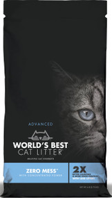 Worlds Best Cat Litter - Worlds Best Cat Litter Zero Mess Unscented (Case of 3 )