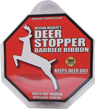 Messinas - Deer Stopper Pretreated Repellent Barrier Ribbon