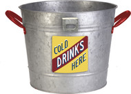 Panacea Products - Vintage Galvanized Ice Bucket Planter
