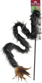 Worldwise Inc-Plume Crazy Wand Cat Toy