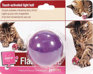 Worldwise Inc-Flash Dance Touch-activated Light Ball Cat Toy