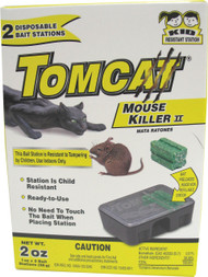 Motomco Ltd             D - Tomcat Mouse Killer Ii Disposable Bait Stations