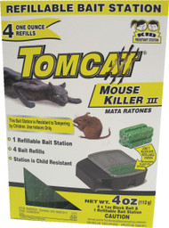 Motomco Ltd             D - Tomcat Mouse Killer Iii Refillable Bait Station